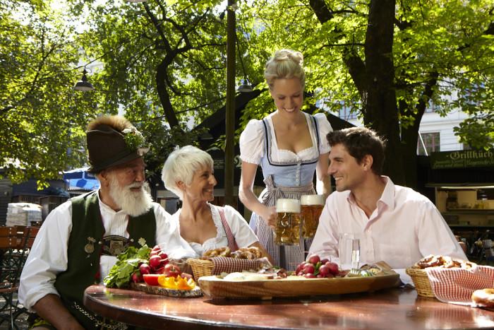 Biergarten tyskland
