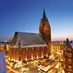 Julmarknaden i gamla stan i Hannover