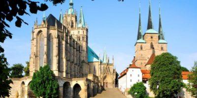Domkyrkan St. Marien och Severikirche i Erfurt