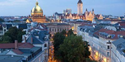 Leipzig Bundesverwaltungsgericht och Neues Rathaus