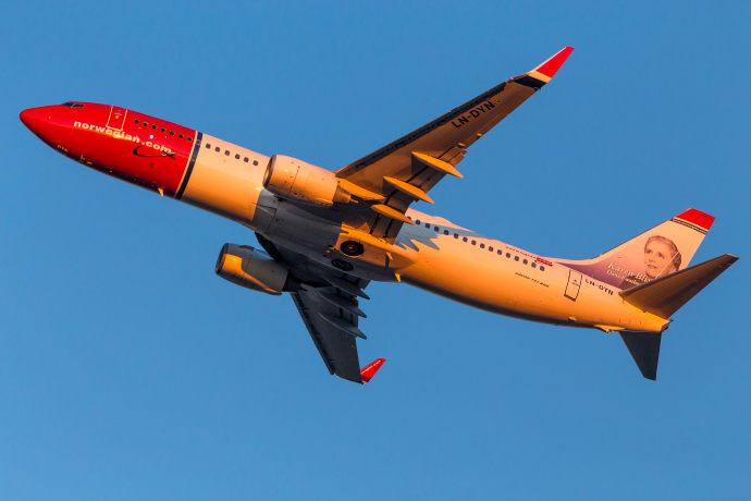 Norwegian lanserar nya flyglinjer från Tyskland