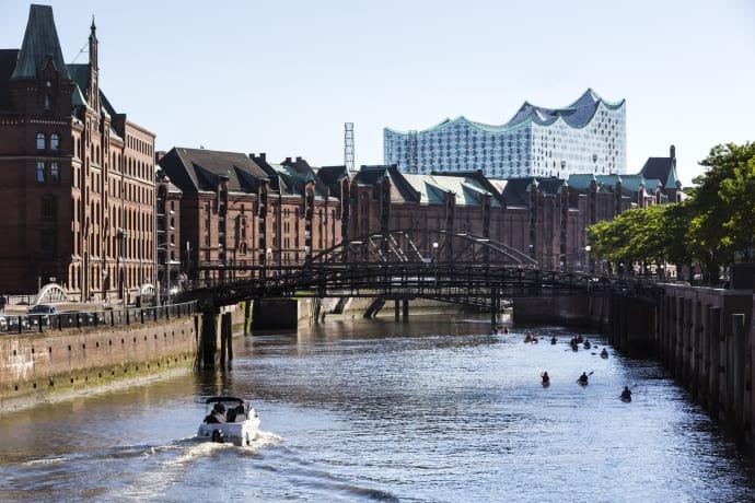 Tysklands näst största stad, Hamburg